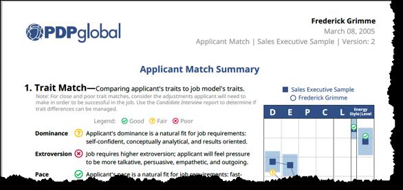 applicant match peek