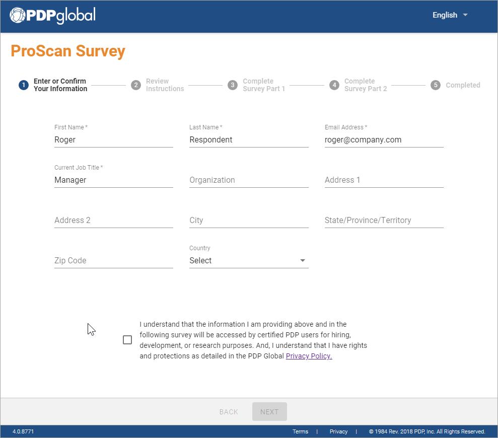 Surveys now comply with the EU GDPR