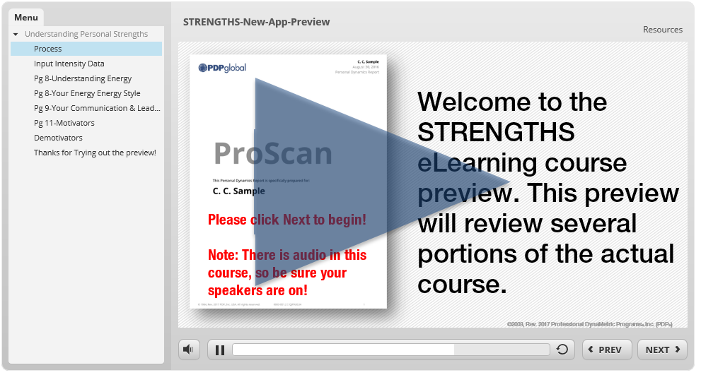 #13 - STRENGTHS eLearning