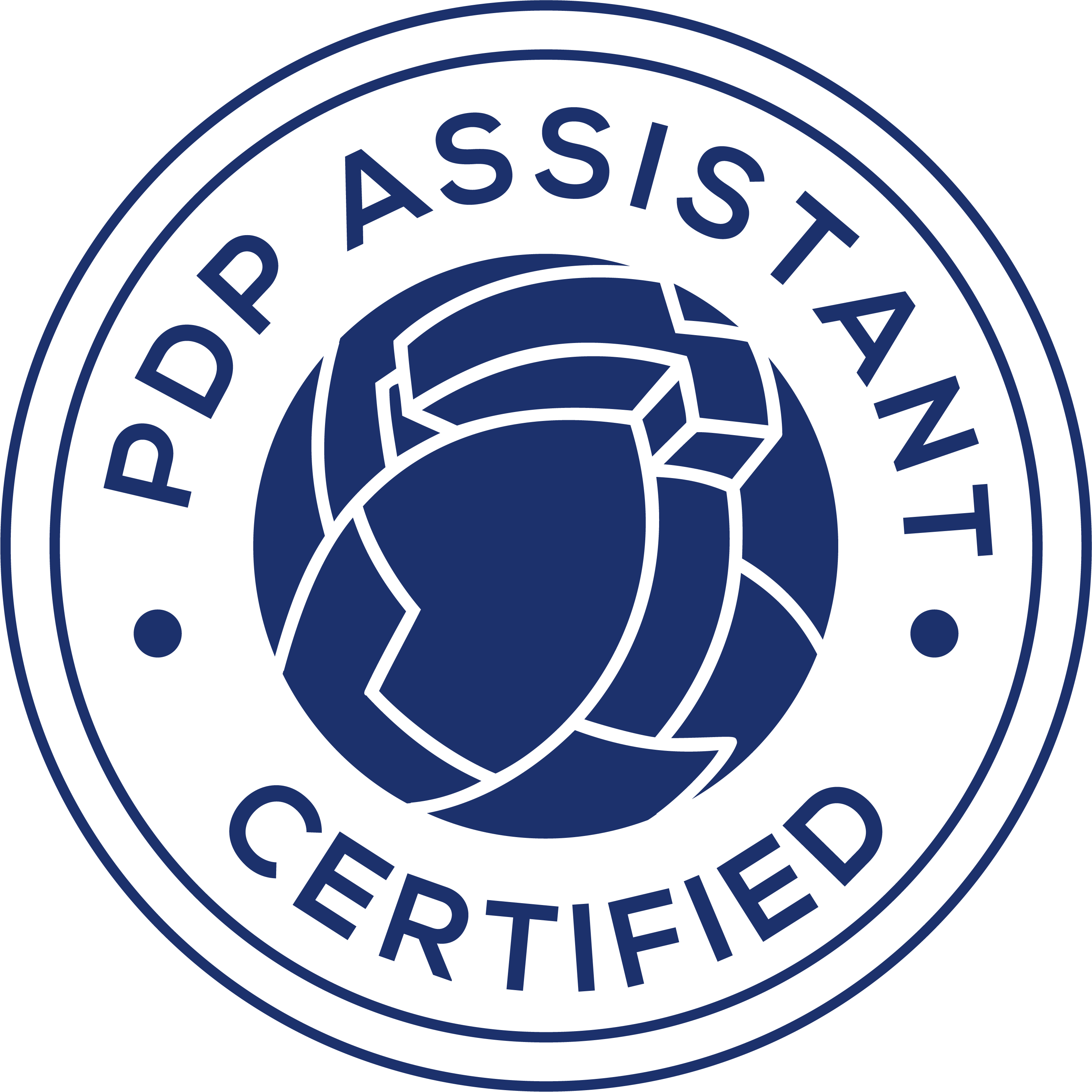 PDP Assistant Badge