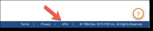 PDP Client APIs